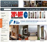 Cornerstone Mantels and Fire